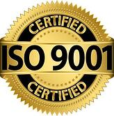 ISO 9001 Certified logo, vector
